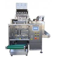 Cheap 8 Lanes Automatic Liquid Packing Machine For  Water / Detergent , 3 / 4 Sides Seal Type wholesale