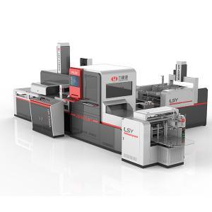 Cheap Advanced Automatic Positioning Machine , Industrial Box Making Machine wholesale
