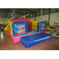 Cheap Durable Custom Made Inflatables Bounce House Slide Combo Digitally Printing 4 X 3 X 2.2m wholesale