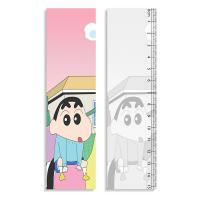 Cheap Straight Rulers 3D Lenticular Printing Service With Crayon Shin - Chan Design wholesale