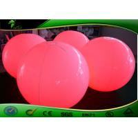 China Colorful Decorative Inflatable Lighting Balloon With LED Light Customized Size on sale