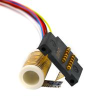 Cheap CE 12 Circuits Electrical Swivel Connector Slip Ring With Large Insulation Resistance wholesale