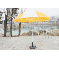 Cheap Stable Big Beach Umbrella , Branded Promotional Umbrellas With 210D Oxford Fabric wholesale