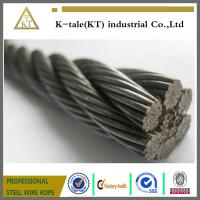 Cheap elevator wire rope ,steel cable , galv.steel wire ropes wholesale