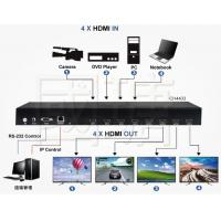 China Matrix HDMI & Video Wall Controller & Multi-Viewer Switch Support 4K 30HZ on sale