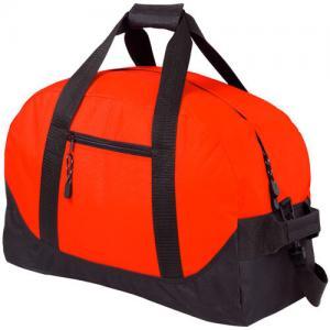 Cheap Washable 420D Polyester Custom Duffle Bags Hard Bottom / Logo Embossed wholesale
