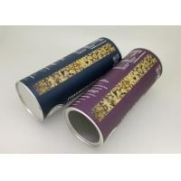 Buy cheap Aluminium Foil Lining Paper Tube Packaging / Oatmeal Container 83mm Diameter from wholesalers