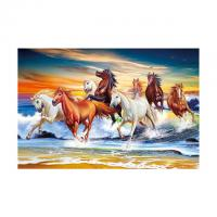 Cheap 40*60cm 3D Image Poster Large Size Animal Horse Pictures Wall Prints wholesale