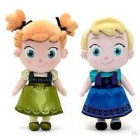 Cheap Small Girls Disney Plush Toys Elsa And Anna Frozen Baby Dolls 30cm wholesale