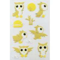Cheap Printable Birds Puffy Animal Stickers For Kids Gifts Custom Eco Friendly wholesale