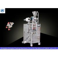 Small Automatic Tea Bag Packaging Machine 1.1 Kw 380v For Triangle Shaped Tea Bags