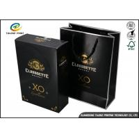 Cheap Drawer Type Paper Wine Box Excellent Scratch Resistance For Hennessy X.O wholesale