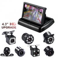 """Easy Operated Backup Camera Monitor 4.3"""" TFT ABS Material Type High Durability"""