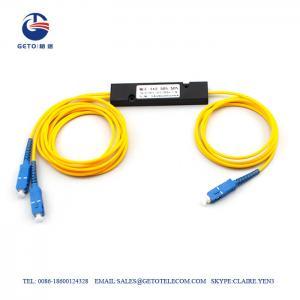 Cheap 1 16 Pigtail PLC Cassette Type Optical Fibre Cable Splitter wholesale