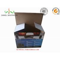 Cheap K9 Reinforced Electronics Product Packaging Boxes Spot UV Finished Varnish Film wholesale