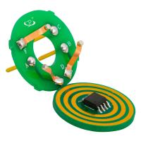 Cheap 6mm Thickness Pancake Slip Ring with Low Electrical Noise and IP54 Protection for Index Table wholesale