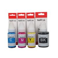 Cheap Canon PIXMA MG5750 MG6850 Color Refill Ink With 70mL / Bottle Water Based wholesale