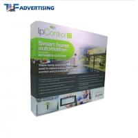 Cheap Custom Printed Trade Show Backdrop Displays , Portable Exhibition Displays Flame Resistant wholesale