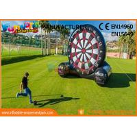 Cheap School Or Backyard Inflatable Sports Games / Inflatable Soccer Dart Board wholesale