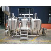 Buy cheap 10 BBL Microbrewery Equipment Steam / Gas Heated Commercial Turn Key from wholesalers