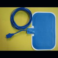Buy cheap disposable medical blue adult horizontal electrosurgical grounding pads from wholesalers