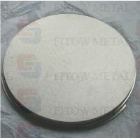 China SS316L Porous stainless steel Sintered for chemical industry on sale