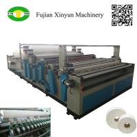 Cheap Semi automatic maxi roll paper and small bobbin paper slitting and rewinding machine wholesale