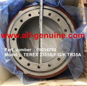 Cheap TEREX 09014790 BRAKE DRUM  NHL DUMP TRUCK TR35 3305B 3305F 3305G 3305K wholesale