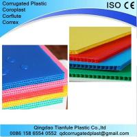 Cheap 2-12mm Polypropylene PP Corrugated Plastic Sheet wholesale