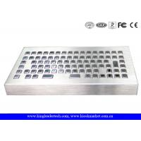 Buy cheap Marine Industry Industrial Keyboard Stainless Steel USB / PS/2 Interface from wholesalers