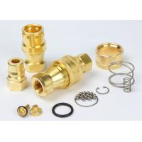 Cheap Brass Hydraulic Quick Couplers Under Pressure NPTF Female Thread For Water wholesale