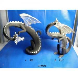 Cheap Resin craft  resin sculpture resin decoration imitated metal dinosaur wholesale