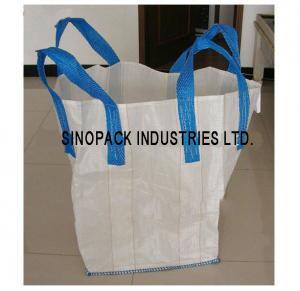 Flexible Intermediate Bulk Containers Circular / Tubular Big Bag Sand gravel soil trasportation