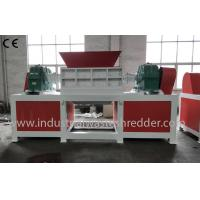 Cheap Cardboard Cores / Rolls Solid Waste Shredder Two Motors Drive Long Durability wholesale