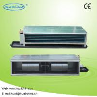 Cheap Concealed Type / Suspended Ceiling Horizontal Fan Coil Unit With Water Chiller wholesale