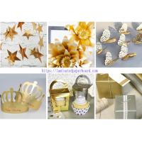 Buy cheap Colorful Metallic Paper Cardstock for Wedding Banner/Salon Decoration from wholesalers
