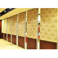Cheap One Way Sliding Partition Wall Movable Partition Walls Folding Partition Door wholesale