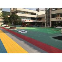 Anti Corrosion Outdoor Sports Flooring Reducing Injury And Fatigue Long Life