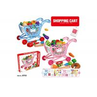 """Buy cheap W / Fruit Age 3 Pink 33Pcs Childrens Toy Kitchen Sets 17 """" Pretend Play Cashier from wholesalers"""
