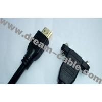 Cheap locking HDMI Cable 1080p wholesale