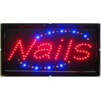 Cheap LED sign LED NAILS sign for sale