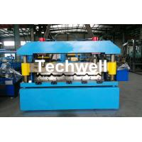 Cheap Automatical Steel Roof Wall Panel Roll Forming Machine With 13 - 20 Forming Station wholesale