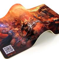China 3d mouse pad custom, rubber gaming mouse pad on sale