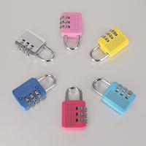 Cheap Colorful Resettable Combination Padlock 3 Digit Password Suicase Padlock wholesale