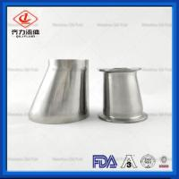Cheap Reducer Pipe Fitting Sanitary Weld  Eccentric Reducer With Weld End wholesale