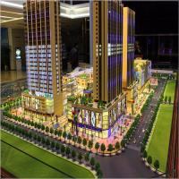 China The fashion design business center architectural model with lighting on sale