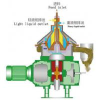 Lower Noise Disc Stack Oil Centrifuge Separator used For Liquid-Solid Separation