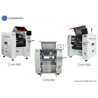 Cheap Charmhigh 3 Types SMT Pick And Place Machine PCB Assembly Line For BGA 0201 wholesale
