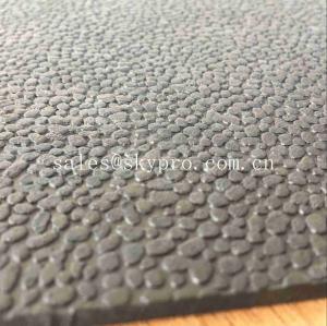 Cheap Heavy Duty Orange Peel Rubber Mats Leather Pattern Rubber Floor Matting wholesale