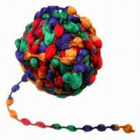 Cheap 2012 New Fancy Yarn for Hand Knitting and Weaving, Made of Polyester wholesale